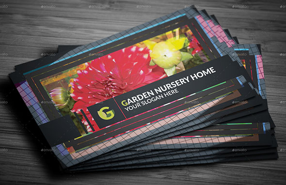 Garden Nursery Business Card