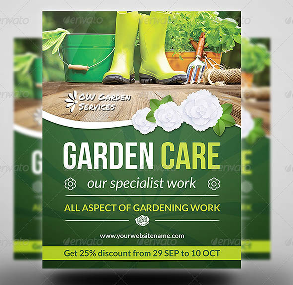Garden Services Flyer Vol 2