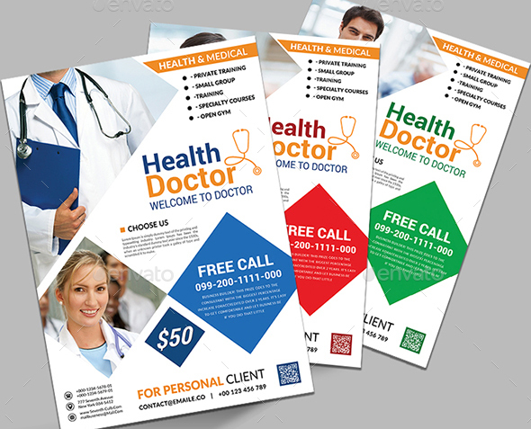 21 cool medical flyer templates desiznworld