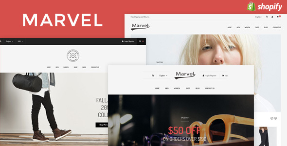 Marvel Responsive Fashion Shopify Theme