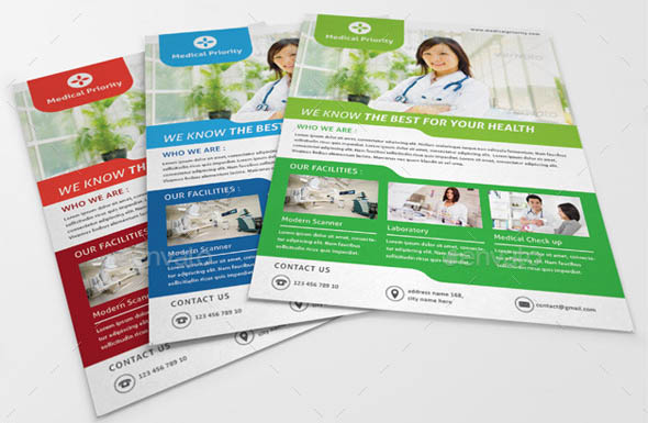 Medical Clean Flyer