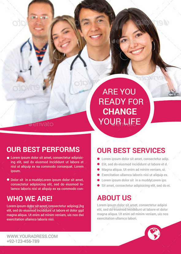 Medical Services Flyer