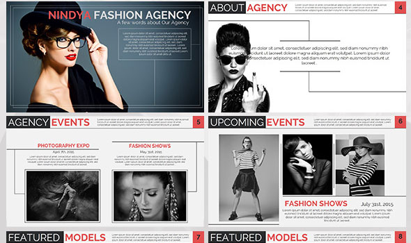 Free Fashion Powerpoint Templates