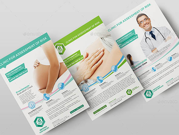 Obstetrics-Medical Flyer Template 01