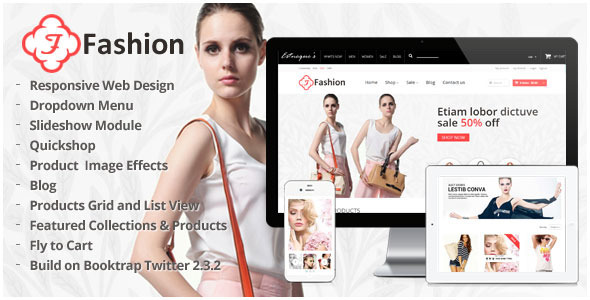 Responsive Shopify Theme Fashion