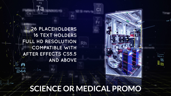 Science or Medical Promo