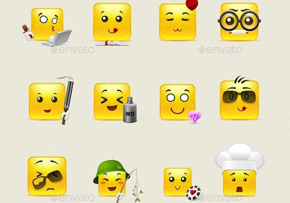 Smileys with Emotions
