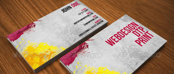Cool Paint Business Card Templates Desiznworld - Painter business card template