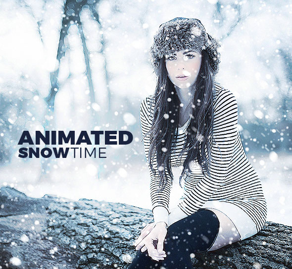 Animated Snow Action