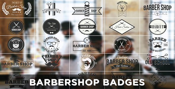 Barbershop Badges