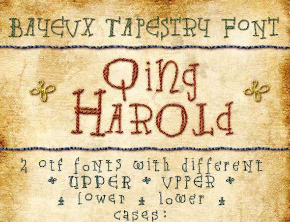 Bayeux Tapestry Type Qing Harold