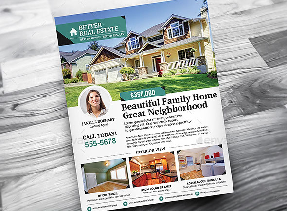 Better Real Estate Flyer Template v3