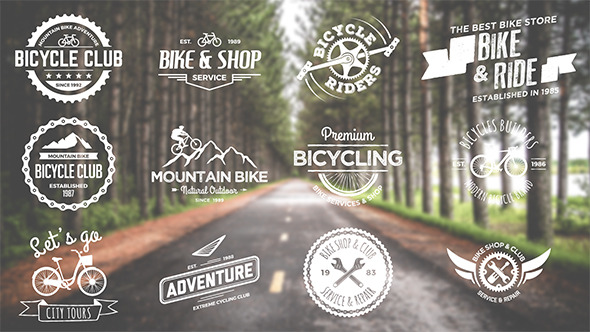 Bike And Bicycle Badges