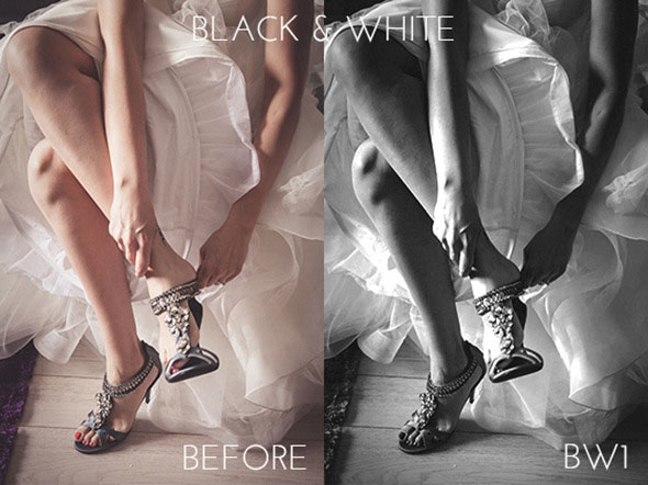 Black White Photoshop Actions