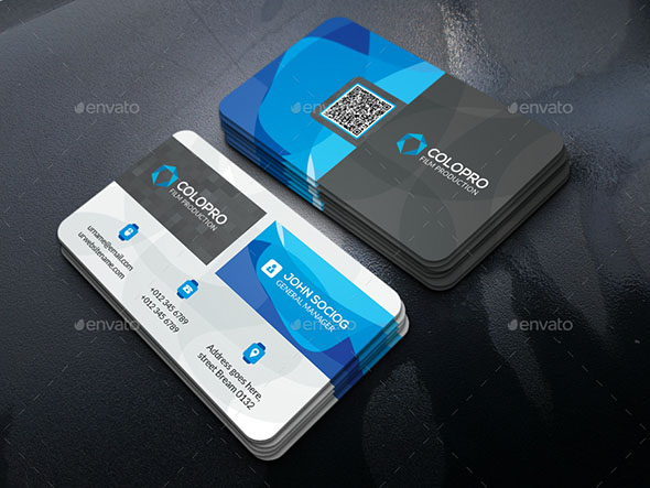 Color Business Card 01