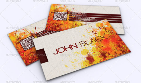 Creative Artist Business Card