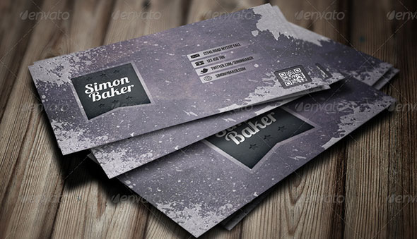 Paint Grunge Business Card