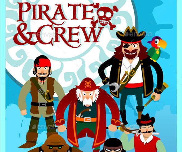 Pirates and Crew