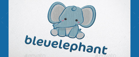 bleuelephant logo template