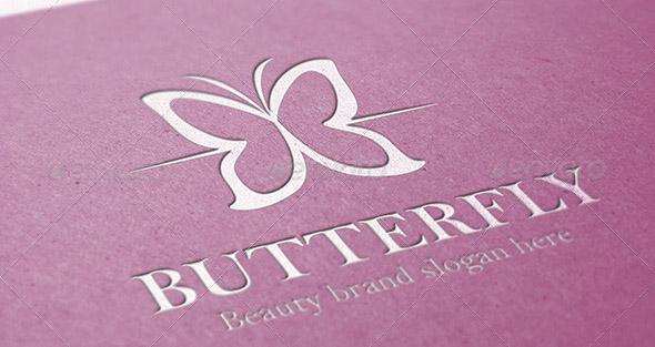 Butterfly Beauty Logo