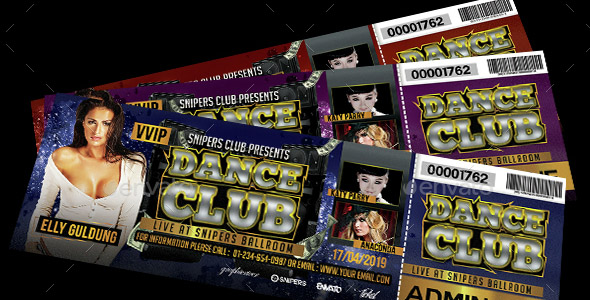 Event Dance Club Ticket