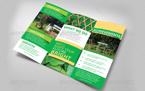 Gardening Three Fold Brochure