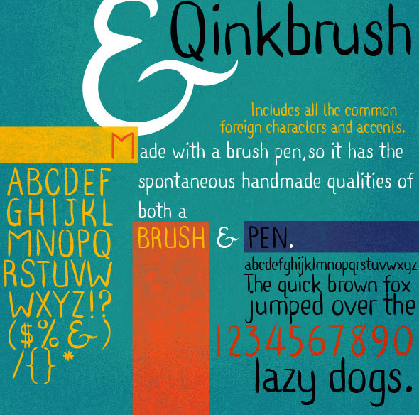 Ink Pen Brush Hand Lettering Qinkbrush