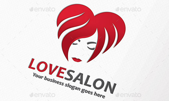 Love Woman Salon Logo