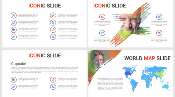 MaxArt Creative Powerpoint Template
