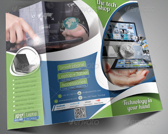 Multipurpose Promotion Trifold Brochure Template