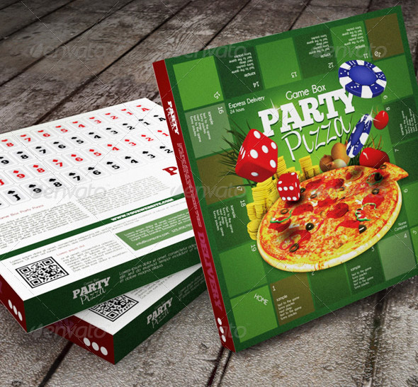 Party Pizza Packaging