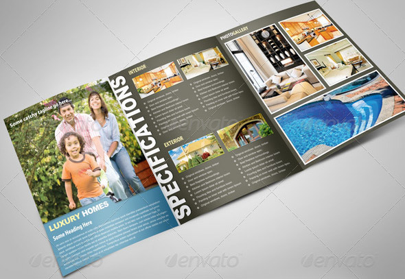 Real Estate Housing Trifold
