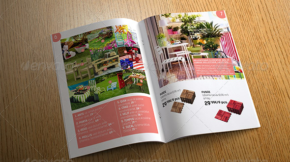 Summer Catalog Template