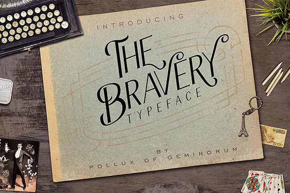The Bravery Typeface