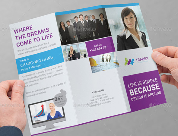 Tradex Business Tri-fold