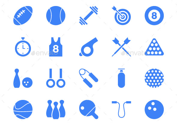 125 Sports Vector Icons
