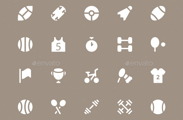 225 Sports Vector Icons