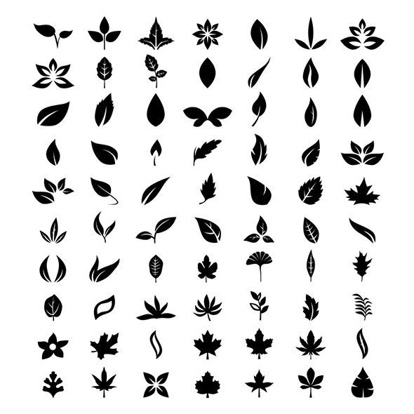 70 Vector Leafs