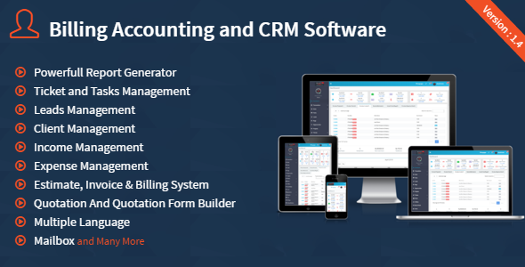BACS Billing Accounting And CRM Software