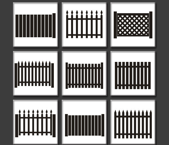 Fence Custom Shapes
