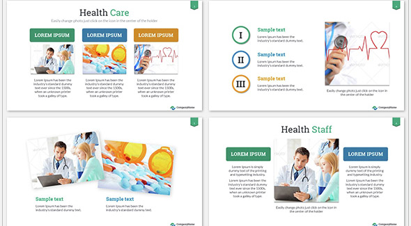 Health Care Success Presentation Template