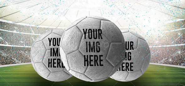 Indoor Soccer Ball Mock-Ups