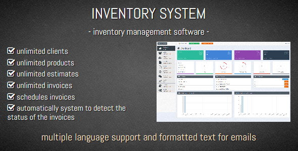 Inventory System Inventory Management Software