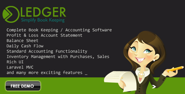 Ledger Book Keeping Accounting Software