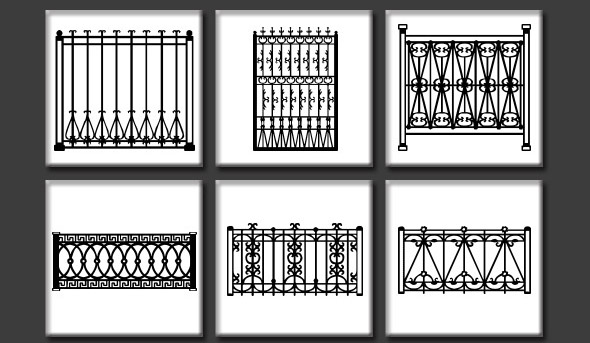 Railing Custom Shapes