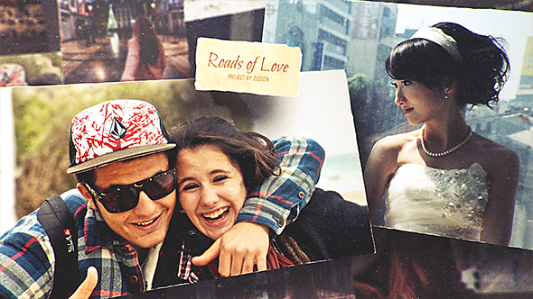 Roads of Love Romantic Slideshow