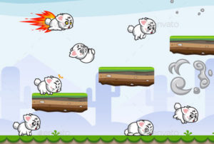 Running-Jumping-Cat-Game-Character
