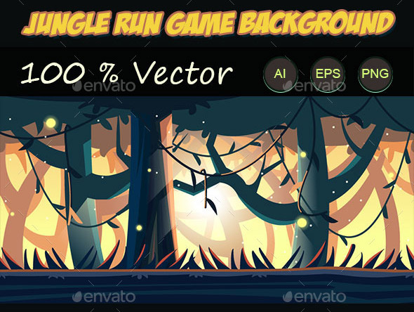 jungle run game background