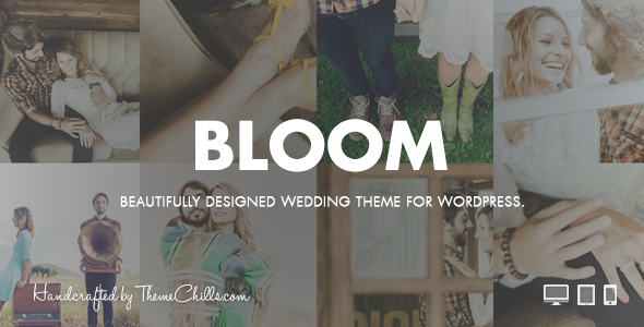 Bloom WordPress Wedding Theme