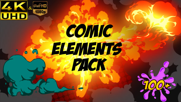Comic Element Pack